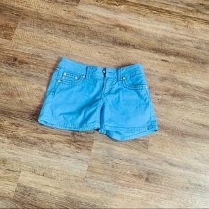 Miss Me flap pocket color shorts